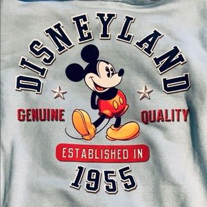 Authentic Disneyland Sweatshirt Hoodie